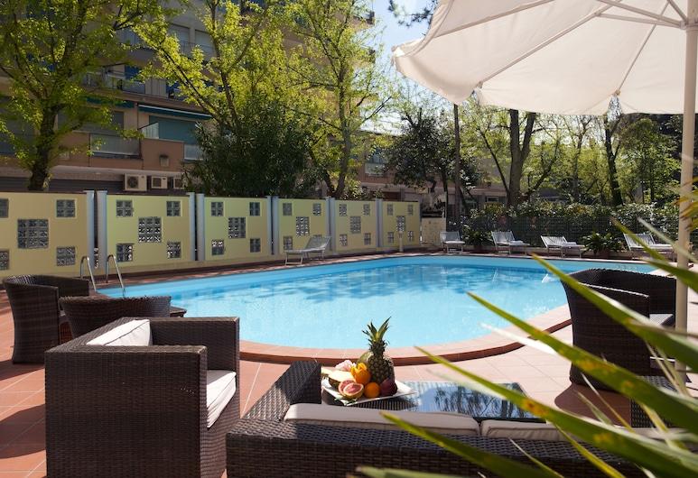 Astoria Suite Hotel, Rimini, Sundeck