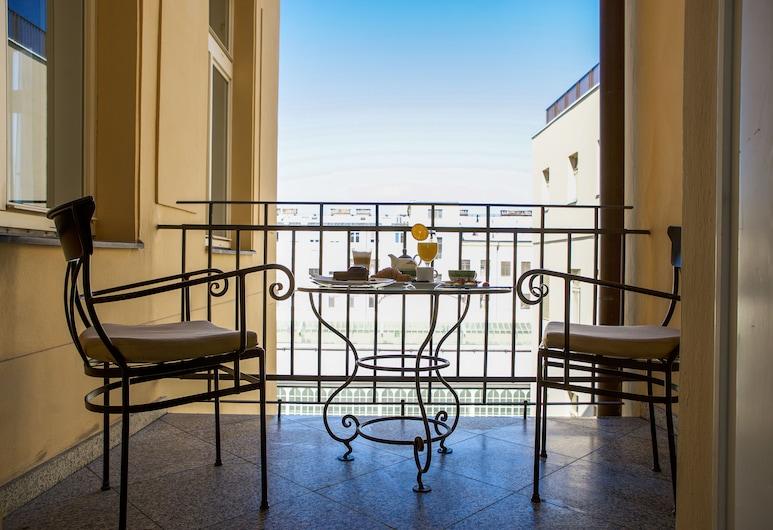 Hotel Liberty, Prague, Deluxe Room, Balcony