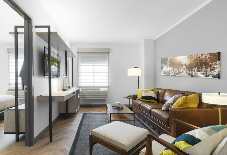 Citadines Connect Fifth Avenue New York, New York, Premier Suite, 1 Bedroom, Guest Room