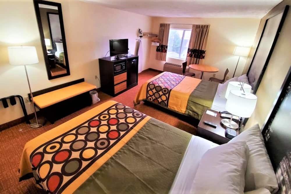 ห้องดับเบิล, เตียงใหญ่ 2 เตียง - ห้องพัก