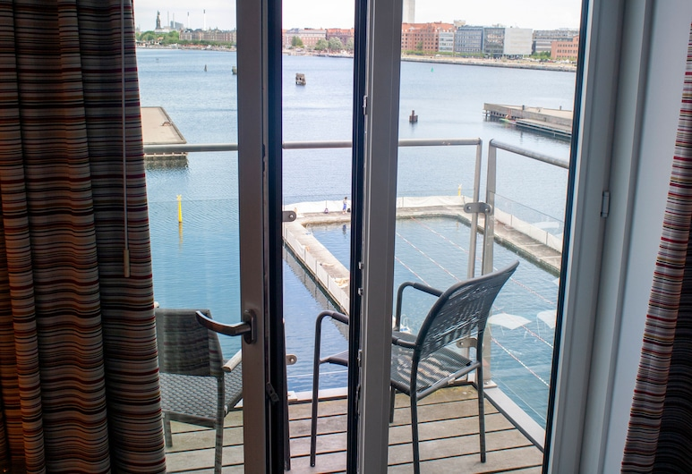 Copenhagen Island Hotel, Copenhagen, Executive double room with a double bed or twin beds, Balcony