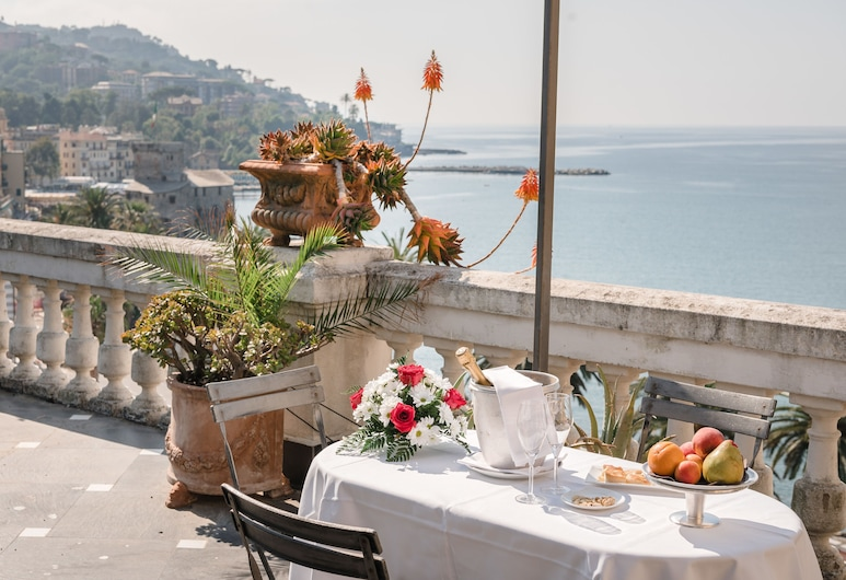 米拉馬雷飯店, 拉帕洛, 露台