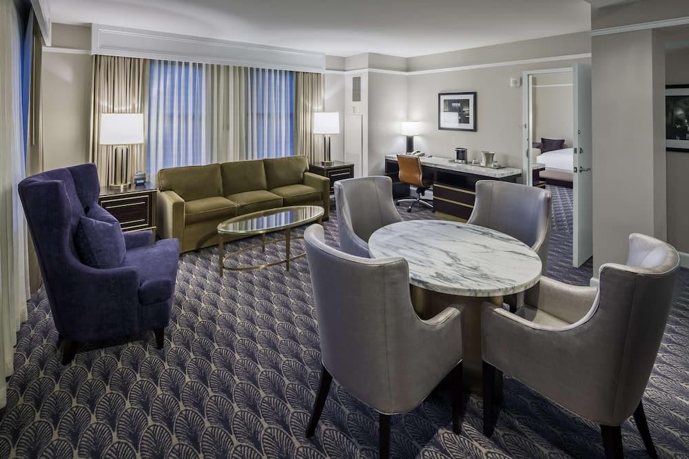 Suite, 1 Bedroom (Parlor) - Living Area