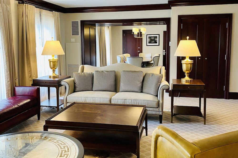 Suite presidencial, 1 cama King size - Sala de estar