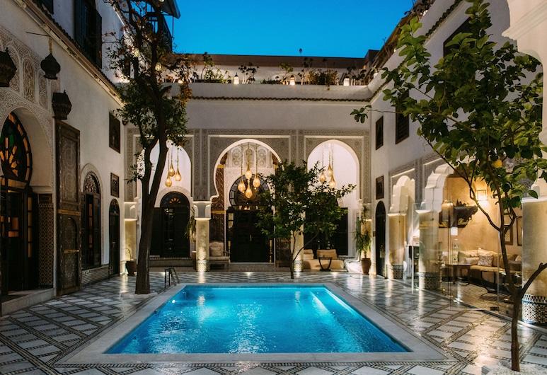 Riad Maison Bleue And Spa, Fes, Açık Yüzme Havuzu
