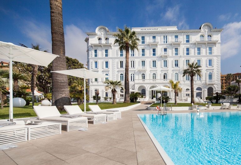 Miramare the Palace Hotel, Sanremo, Pool