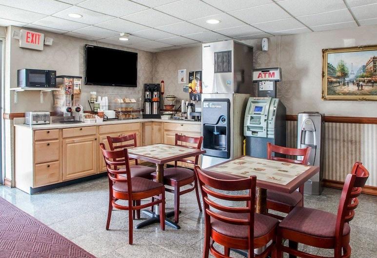 Rodeway Inn Jersey City near Hoboken, Jersey City, Frühstücksbereich