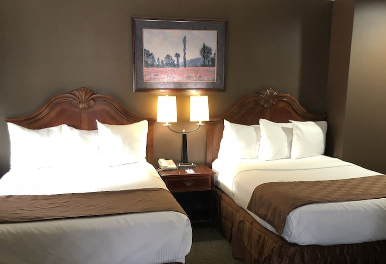 Knights Inn Downtown Los Angeles, Los Angeles, Room, 2 Queen Beds, Guest Room