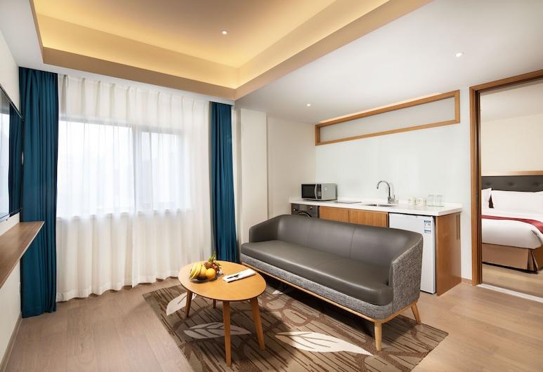 上海虹橋君麗假日酒店, 上海, 家庭套房, 1 張標準雙人床, 客房