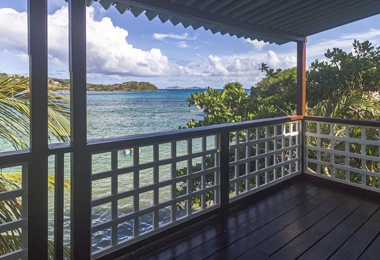 Bequia Beachfront Villa Hotel, Bequia Island, Villa, 2 Bedrooms, Beachfront (Penthouse Suite), Balcony