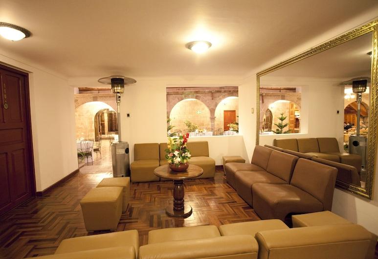 Terra Andina Colonial Mansion, Cusco, Posezení ve vstupní hale
