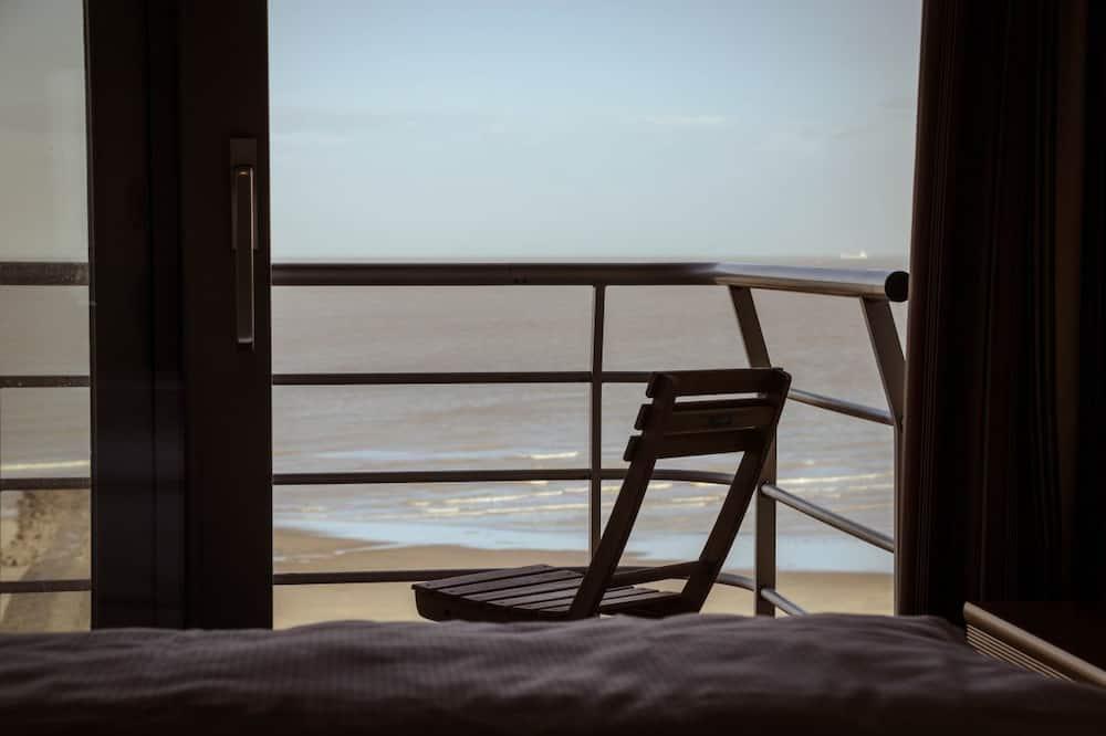 Double Room, 2 Twin Beds, Sea View - Balcony
