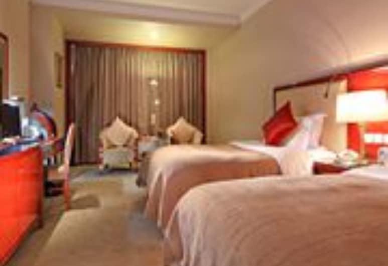 XinHai JinJiang Hotel Wangfujing, בייג'ינג, חדר סופריור, חדר אורחים
