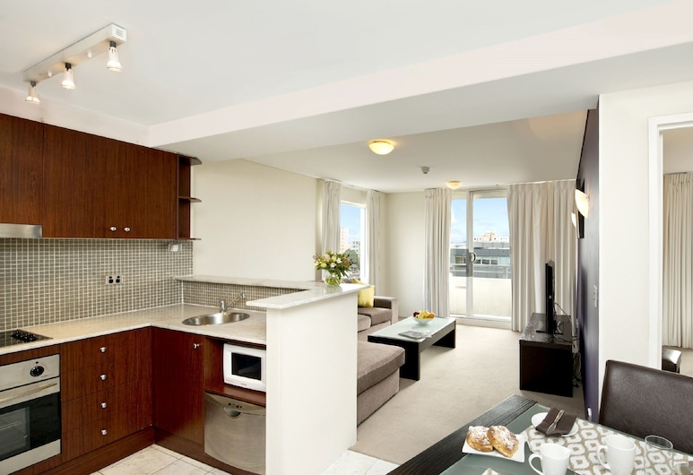 Park Regis Concierge Apartments, Cremorne, Apartamento, 1 habitación, Sala de estar
