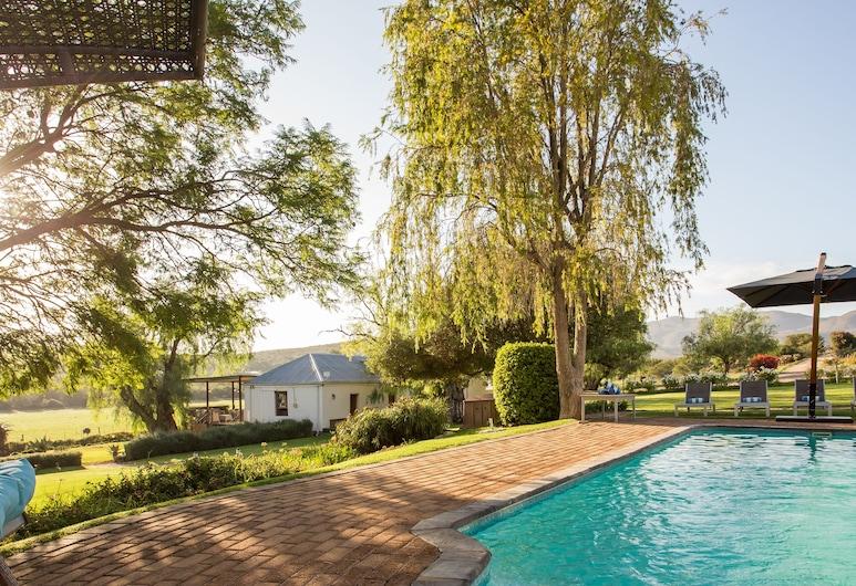 Swartberg Country Manor, Oudtshoorn, Main House 1 , Garden View