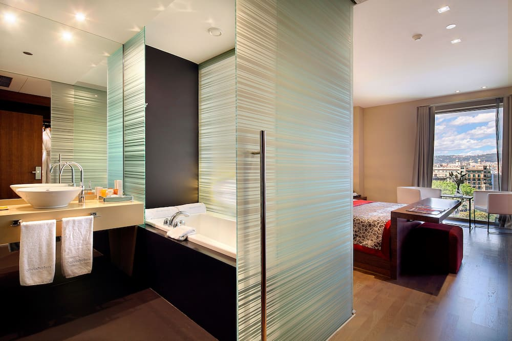 Quarto superior - Banheiro