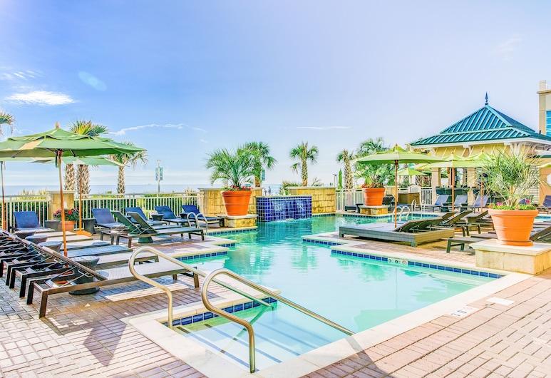 鑽石渡假村海洋海灘俱樂部, 維吉尼亞海灘, 室外游泳池
