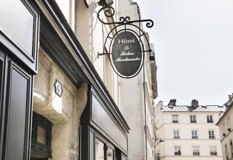 Le Relais Montmartre, Pariisi, Hotellin julkisivu