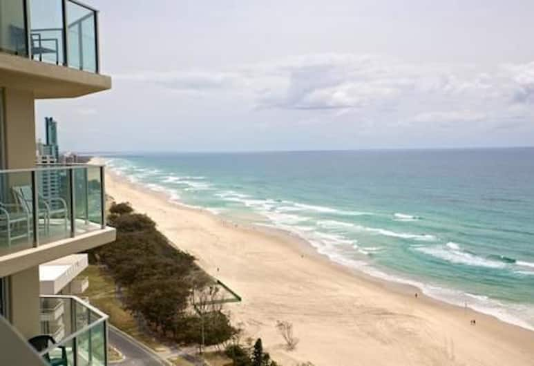 Hi Surf Beachfront Resort Apartments, Surfers Paradise, Apartment, 2 Bedrooms (Absolute Beach Front), Balcony