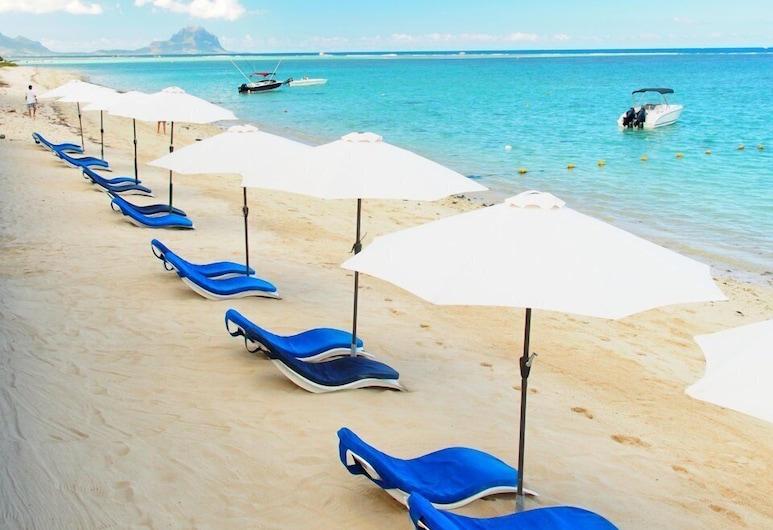 Gold Beach Resort, Flic-en-Flac, Strand