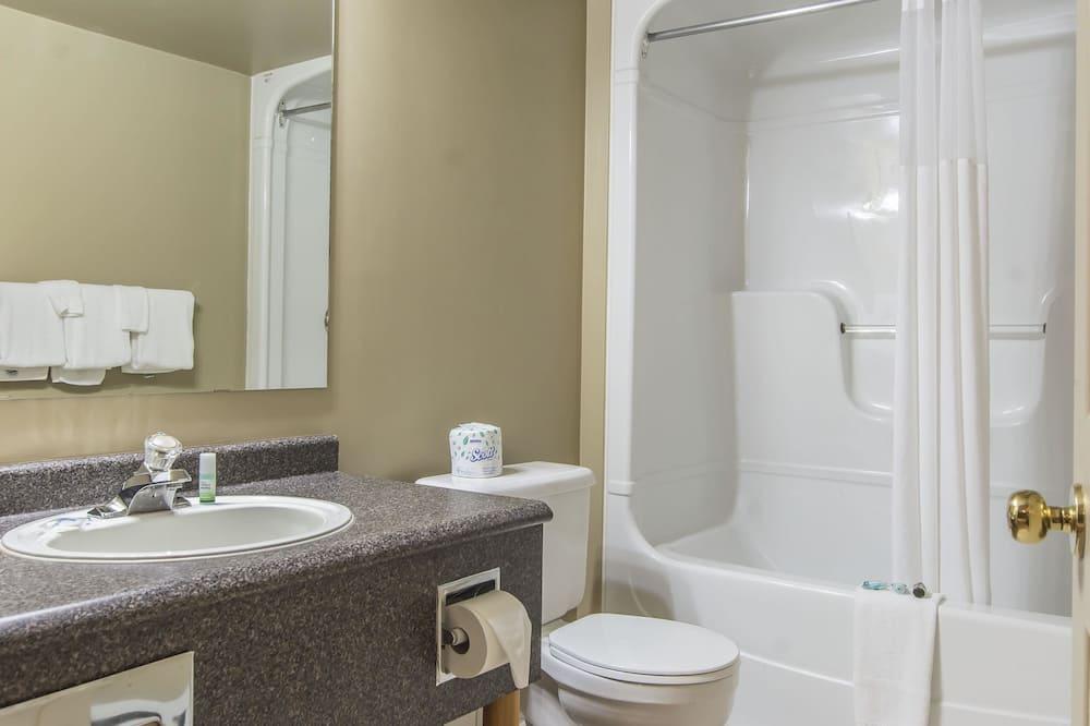 Standardværelse - 1 kingsize-seng - ikke-ryger - Badeværelse