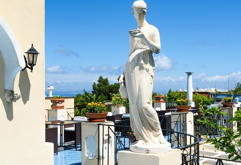 Hotel Bussola di Hermes, Anacapri, Terrasse/Patio