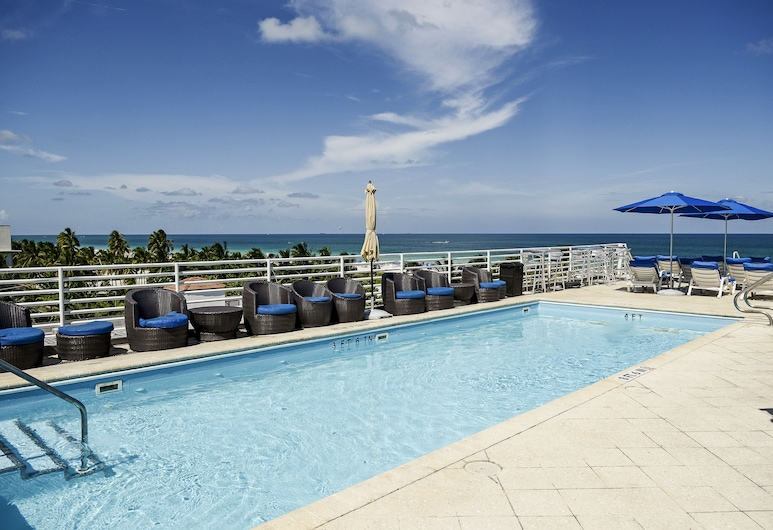 Congress Suites at the Strand, Miami Beach, Takterrasse med basseng