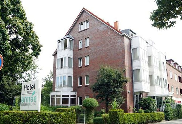 Entrée Hotel Groß Borstel, Hamburgas, Viešbučio fasadas