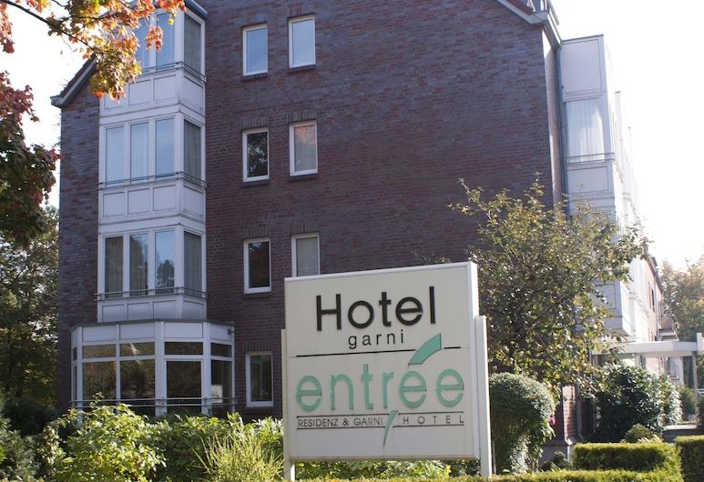 Entrée Hotel Groß Borstel, Hamburk