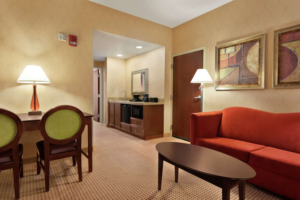 Suite, Accessible, Non Smoking - Living Area