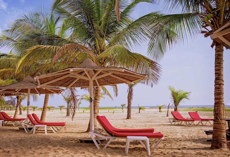 海灣度假飯店, 巴考, 海灘