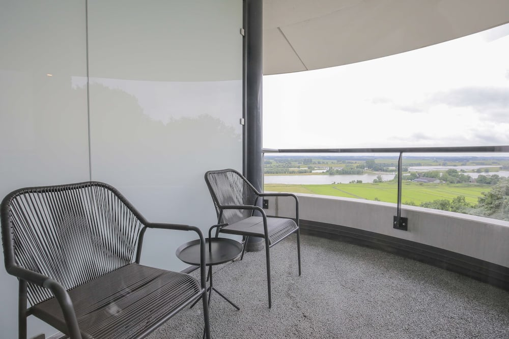 Suite, Balkon, Flussblick - Balkon