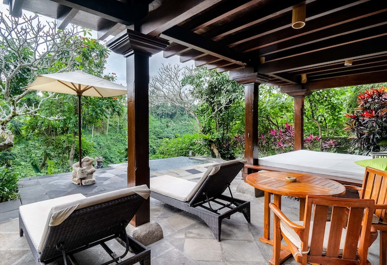 Natura Resort and Spa, Ubud, Valley View Pool Villa, Terrace/Patio