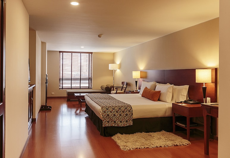Hotel Estelar Suites Jones, Bogotá, Camera Superior, 2 letti matrimoniali, Camera