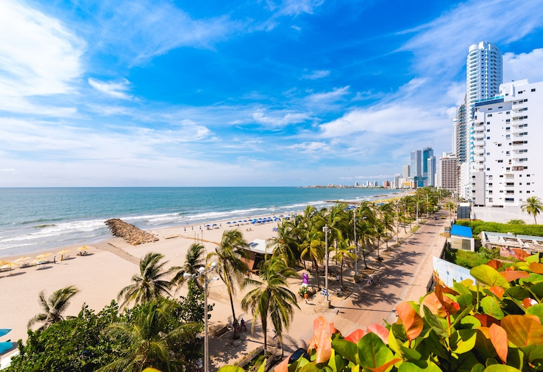 Hotel Almirante Cartagena - Colombia, Cartagena, חוף ים