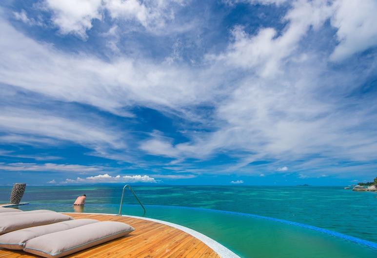 Coco de Mer Hotel and Black Parrot Suites, เกาะปราสลิน, สระว่ายน้ำธรรมชาติ