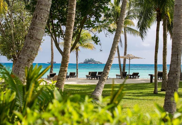 Paradise Sun Hotel, Praslin, Playa