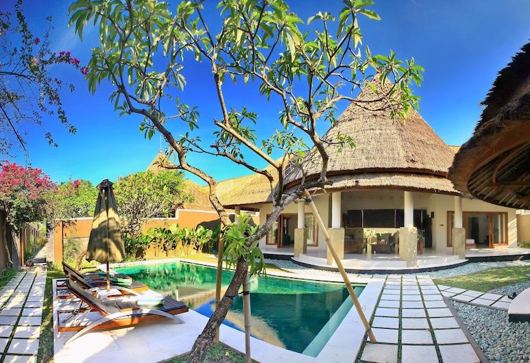 Mutiara Bali Boutique Resort Villas & Spa, Seminyak, Vila, 3 quartos, Vista (do quarto)