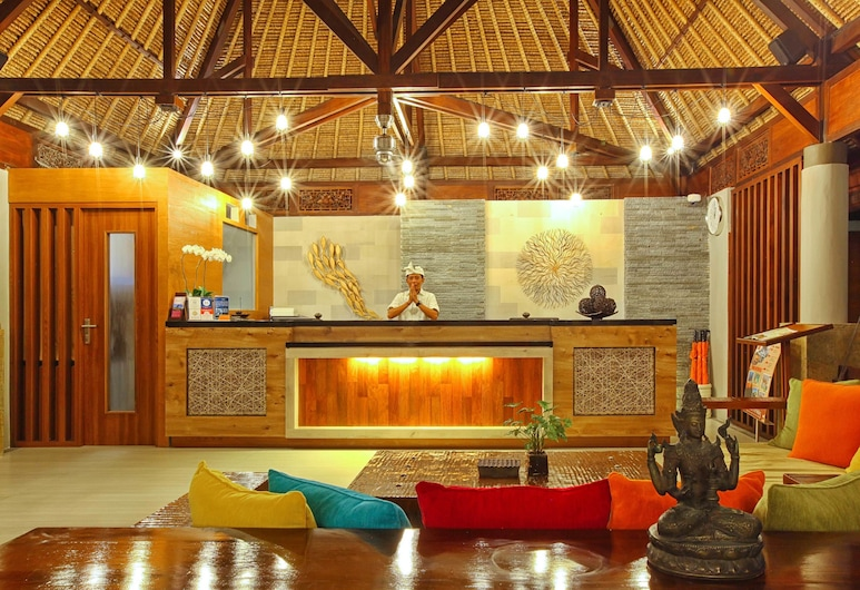 Mutiara Bali Boutique Resort Villas & Spa, Seminyak, Recepção