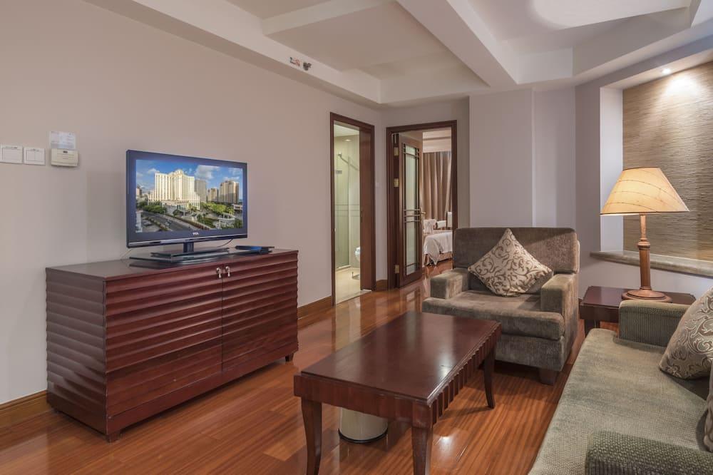 Superior-Suite, 1King-Bett - Wohnbereich