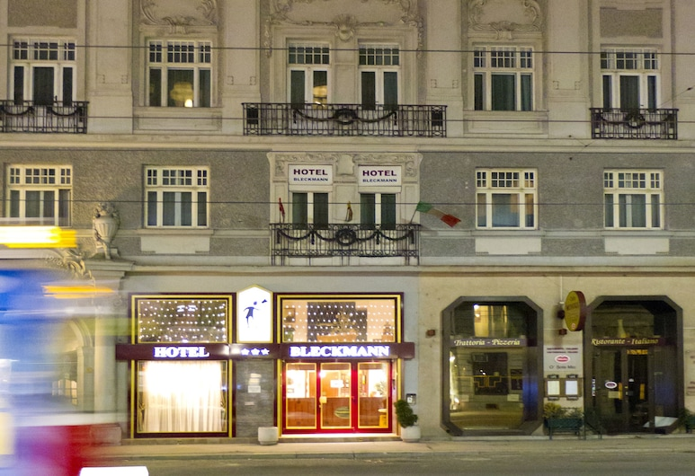 Hotel-Pension Bleckmann, Viena, Fachada do hotel