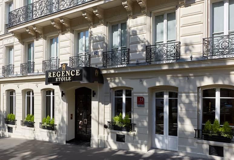 Hôtel Régence Etoile, Paryż, Wejście do hotelu