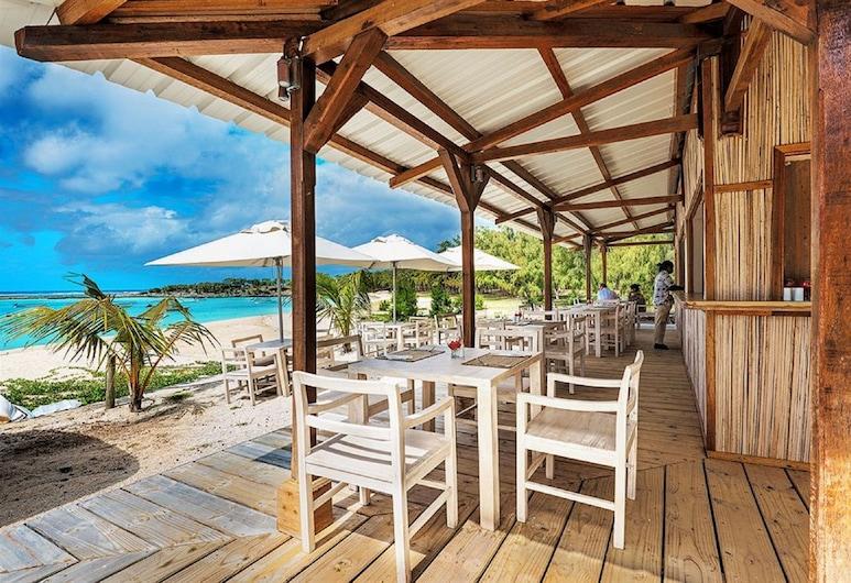 Cotton Bay Hotel, Ile Rodrigues, Bar de l'hôtel