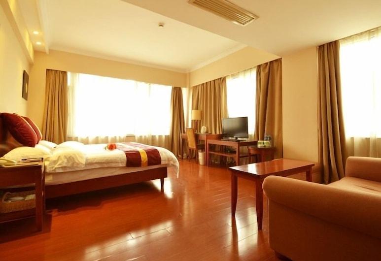 GreenTree Inn ShangHai JingAn XinZha Road Business Hotel, שנחאי, חדר אורחים