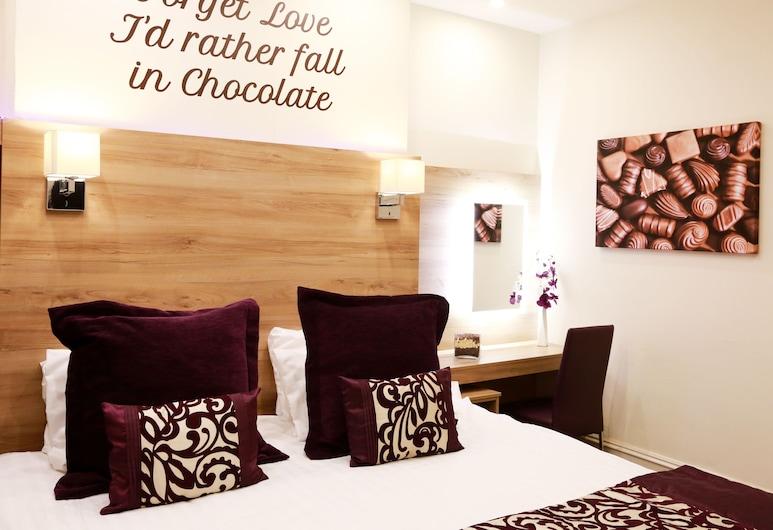 The Chocolate Box Hotel, Bournemouth, Dobbelt- eller tomannsrom – deluxe, eget bad, Gjesterom