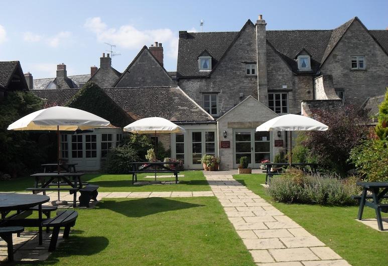 Corinium Hotel & Restaurant, Cirencester, Teras/Veranda