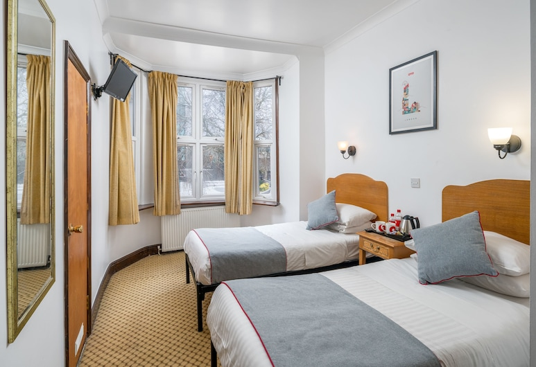 OYO Abbey Hotel, London, Standard-Zweibettzimmer, Zimmer