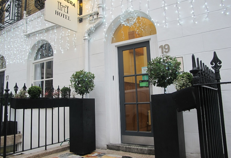 Alhambra Hotel, London, Hotellets front
