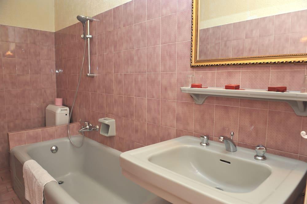 Kolmen hengen huone, Kylpyamme - Kylpyhuone