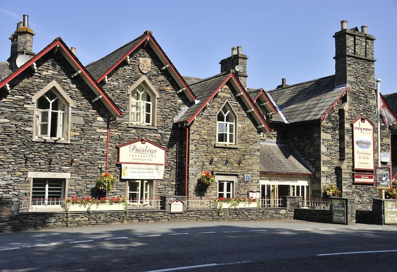 Craig Manor Hotel, Windermere, Hotel Front